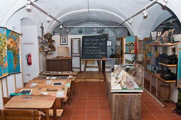 Ortsgeschichte und traditionelles Handwerk im Heimatmuseum (Foto: © Andreas Bohren)