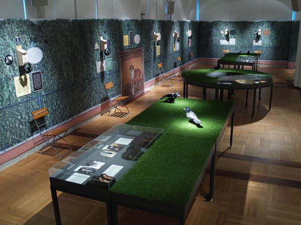 """Ausstellung 2011 """"Die Natur ist ein ernster Gegenstand"""" (Copyright: Peter Karlhuber (StifterHaus, Adalbert-Stifter-Platz 1, A-4020 Linz)"""