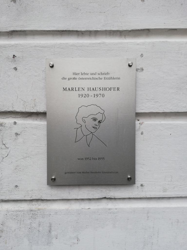 Gedenktafel an der Berggasse 81, Steyr