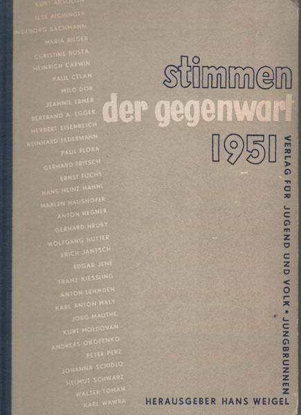 Stimmen der Gegenwart 1951